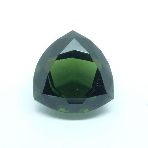 Vltavín - broušený trillion 22.95 ct