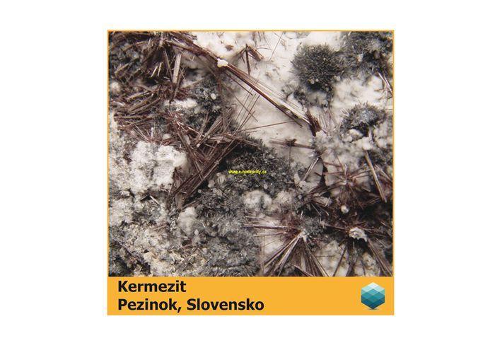 Fotomagnet na ledničku - Kermezit - Pezinok - 75 x 75 mm E-meteority