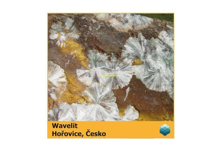 Fotomagnet na ledničku - Wavelit - Hořovice - 75 x 75 mm E-meteority