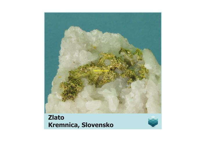 Fotomagnet na ledničku - Zlato - Kremnica - 75 x 75 mm E-meteority