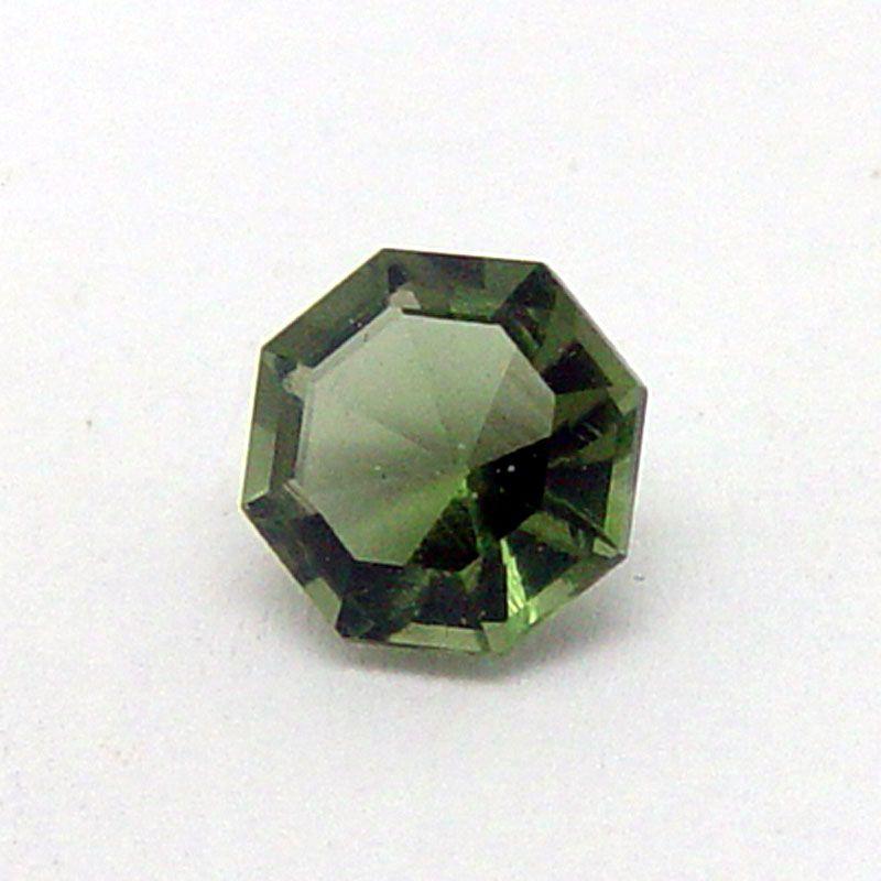 Vltavín brus oktagon 7x7 mm E-meteority