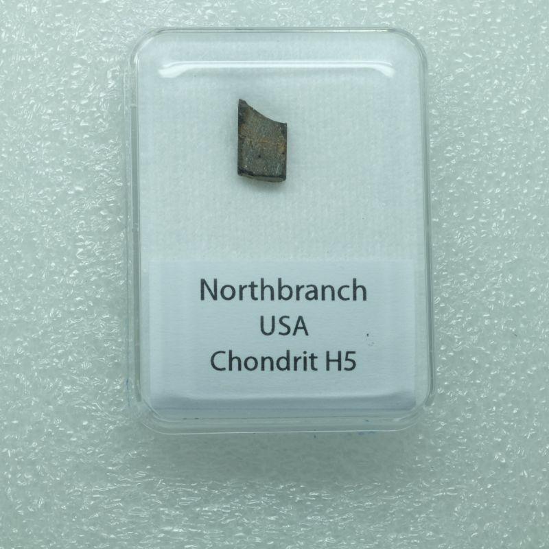 Kamenný meteorit z lokality Northbranch o váze 0,782 gramů
