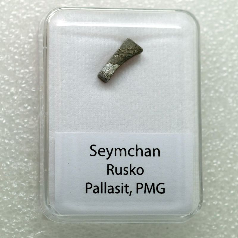 Pallasit z lokality Seymchan o váze 1,30 gramů